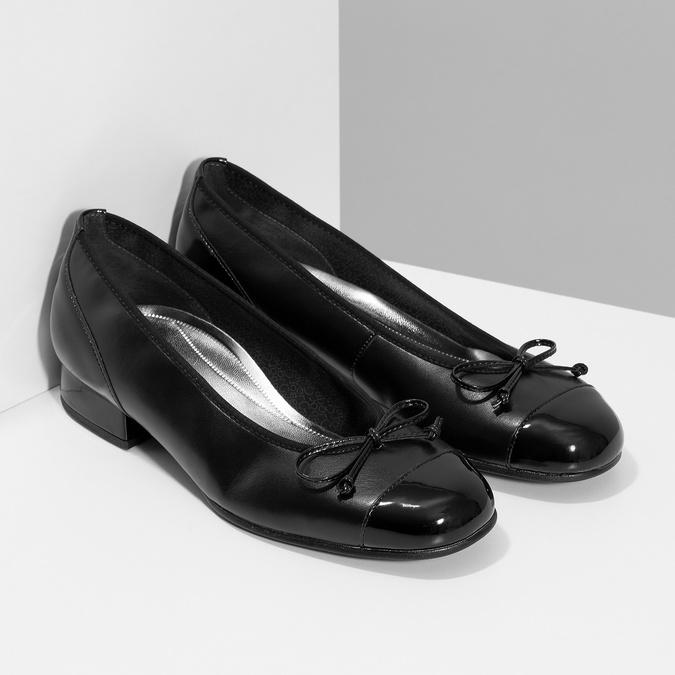 Pumps gabor, black , 524-6452 - 26