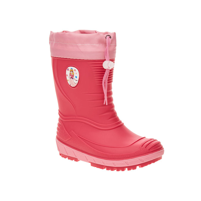 Children´s rubber boots mini-b, pink , 392-5101 - 13