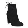 Ankle-cut Cossacks on a high heel bata, black , 799-6604 - 13
