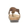 Ladies' leather sandals weinbrenner, brown , 566-4101 - 17