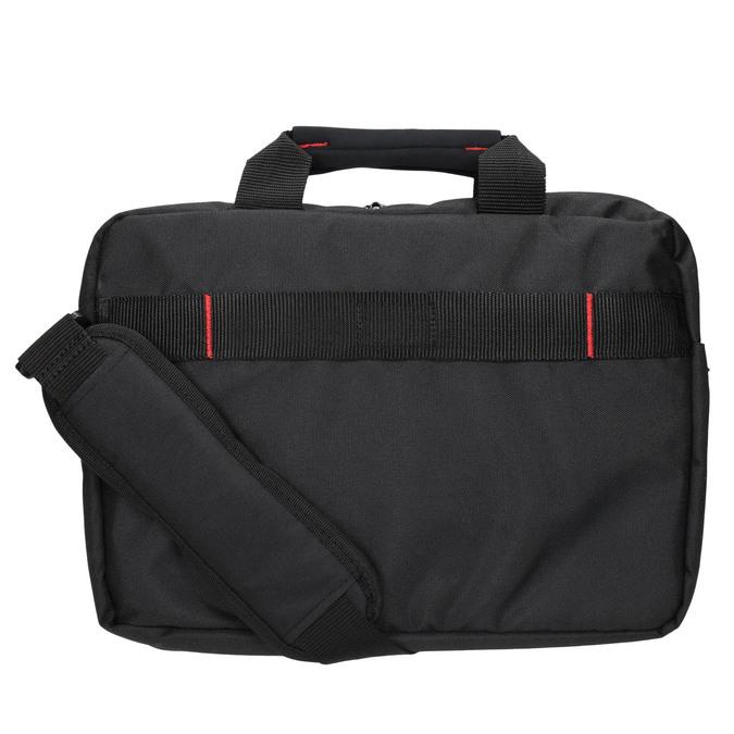 Professional laptop bag, black , 969-2378 - 26