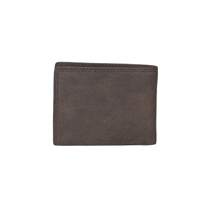 Men's leather wallet bata, brown , 944-4129 - 26