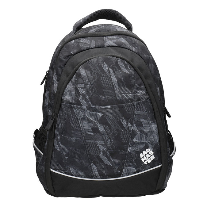 Children's School Backpack bagmaster, black , 969-6606 - 26