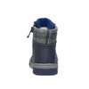 Children's insulated leather boots bubblegummer, blue , 116-9102 - 17