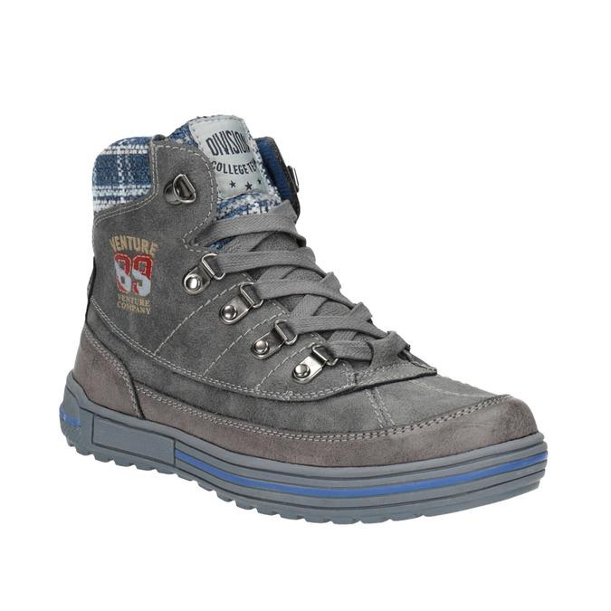 Children's ankle boots mini-b, gray , 491-2651 - 13