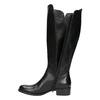 Ladies' leather high boots bata, black , 594-6586 - 26