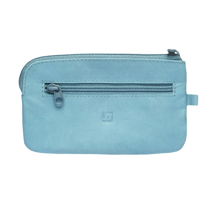 Leather purse bata, blue , 944-9161 - 26