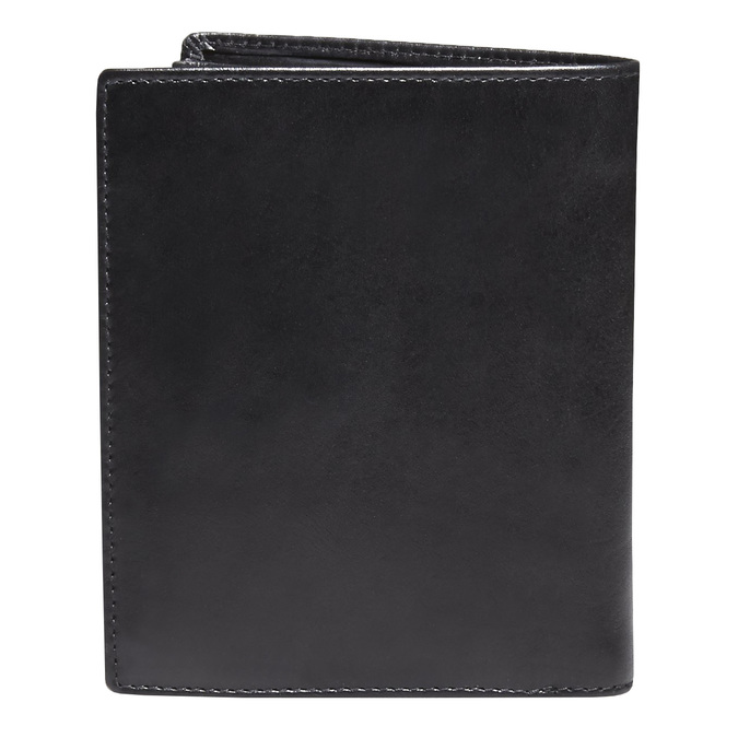 Men's leather wallet bata, black , 944-6121 - 26