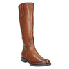 Ladies´ leather Cossacks bata, brown , 596-4608 - 13