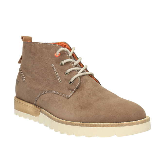 Men´s leather chukka boots weinbrenner, brown , 846-4629 - 13