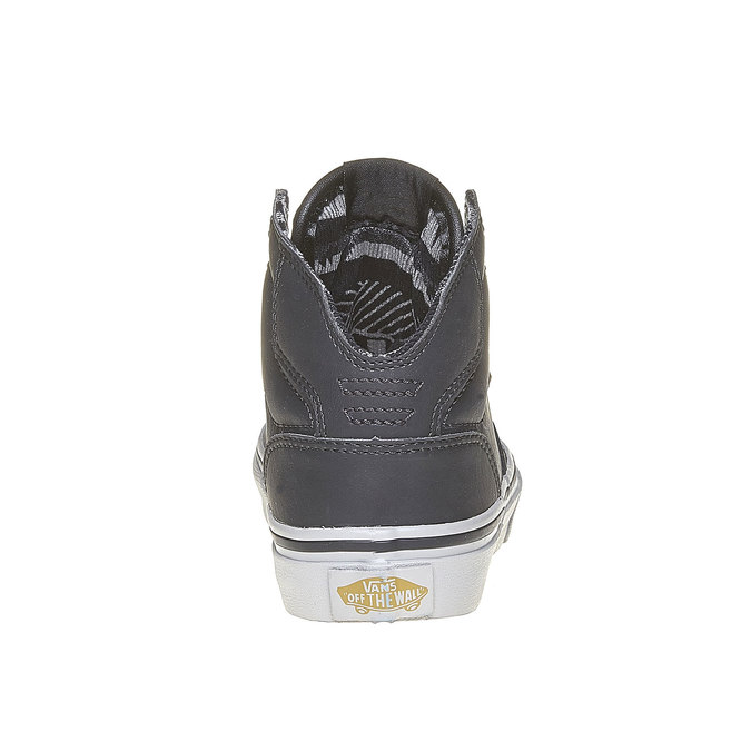 Children's ankle-cut sneakers vans, gray , 401-6310 - 17
