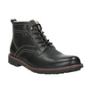 Leather winter shoes bata, black , 894-6642 - 13