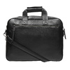 Satchel with detachable strap bata, black , 961-6269 - 19