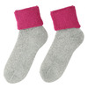 Ladies' thermal socks, pink , 919-5382 - 26