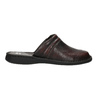 Men's leather slippers, brown , 874-4600 - 15