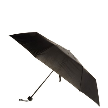 Black telescopic umbrella bata, black , 909-6600 - 13