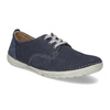 Casual leather shoes, blue , 846-9631 - 13