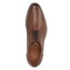 Men's brown leather shoes bata, brown , 826-4791 - 19