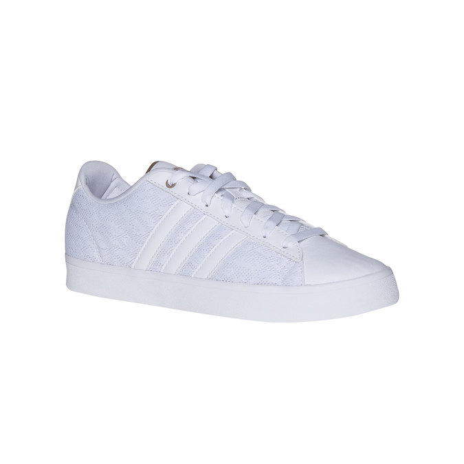 Adidas Ladies' white sneakers with lace