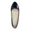 Ladies' patent leather ballerinas bata, blue , 521-2602 - 19