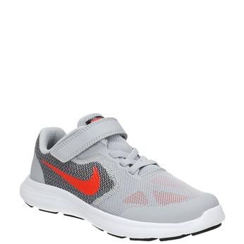 Children's sporty sneakers nike, gray , 309-2149 - 13