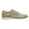 Casual leather shoes weinbrenner, beige , 846-8630 - 15