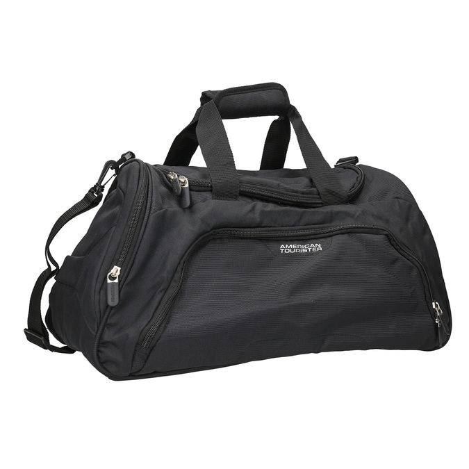 Black travel bag american-tourister, black , 969-6164 - 13