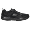 Men's sneakers with memory foam skechers, black , 809-6141 - 15