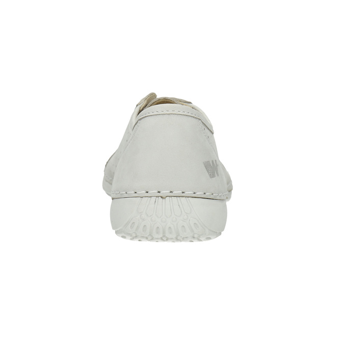 Ladies' casual leather shoes weinbrenner, gray , 546-1602 - 17