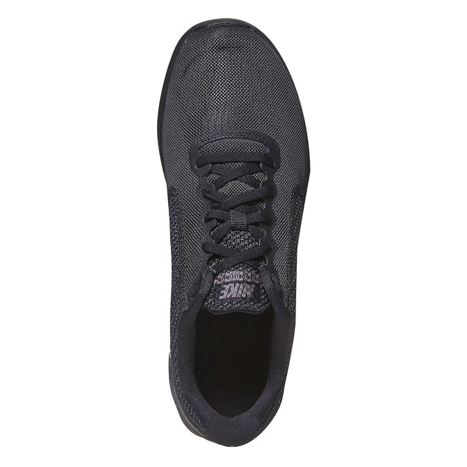 Men's sporty black sneakers nike, black , 809-6149 - 19