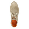 Brushed leather ankle boots weinbrenner, beige , 843-4625 - 19