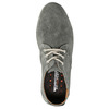 Casual grey leather shoes weinbrenner, gray , 843-2629 - 19