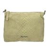 Ladies' leather crossbody handbag fredsbruder, green, 963-7031 - 19