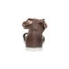 Ladies' leather sandals bata, brown , 566-4603 - 17