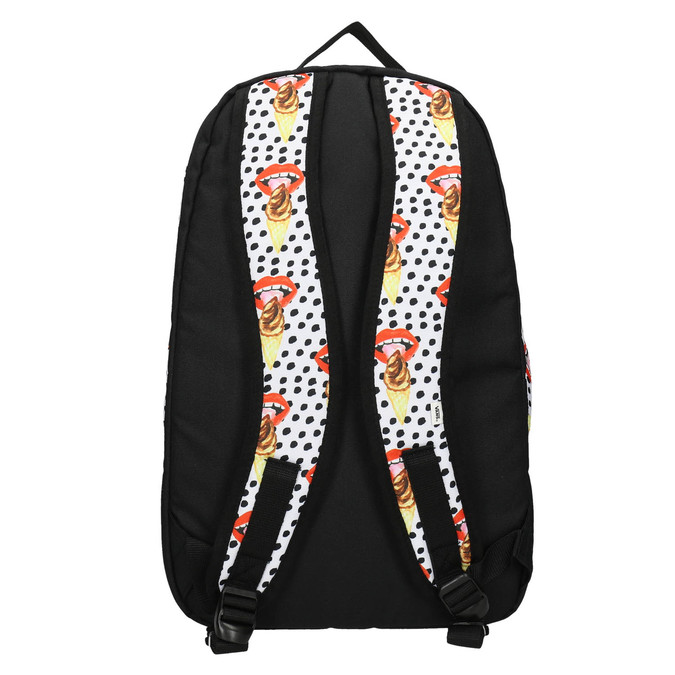 Backpack with pattern and polka dots vans, multicolor, 969-0082 - 26