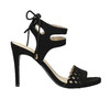 Black stiletto sandals bata, black , 769-6603 - 15