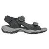 Men's leather sandals weinbrenner, black , 866-6630 - 15