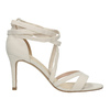 Heeled lace-up sandals insolia, beige , 769-1613 - 15
