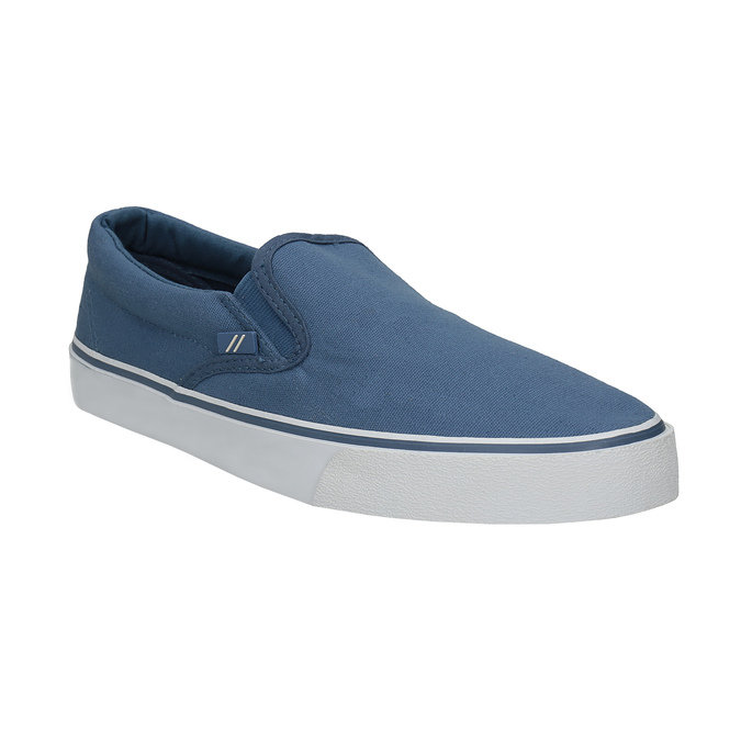 Blue slip-ons north-star, blue , 889-9286 - 13