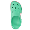 Girls' sandals with frog coqui, green, 272-7602 - 26