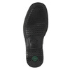 Men's shoes with stitching, black , 824-6542 - 19
