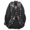 School backpack with print bagmaster, black , 969-6650 - 19