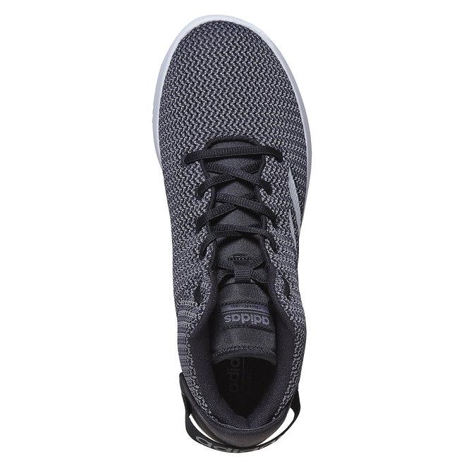Men's high-top sneakers adidas, gray , 809-6216 - 19