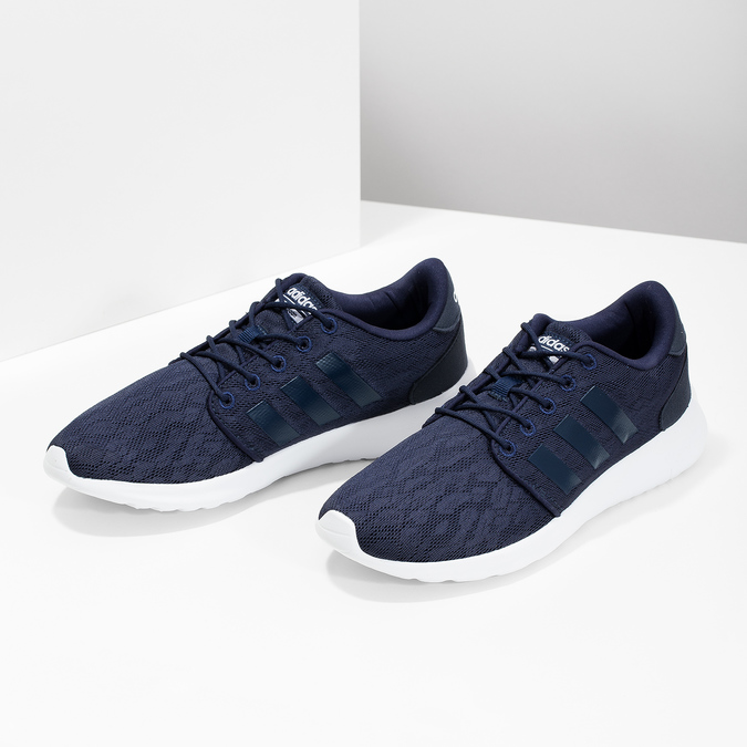 Ladies' blue sneakers adidas, blue , 509-9112 - 16