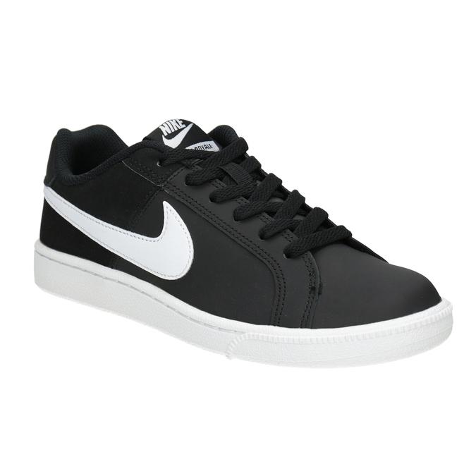 Ladies' White Sneakers nike, black , 501-6164 - 13