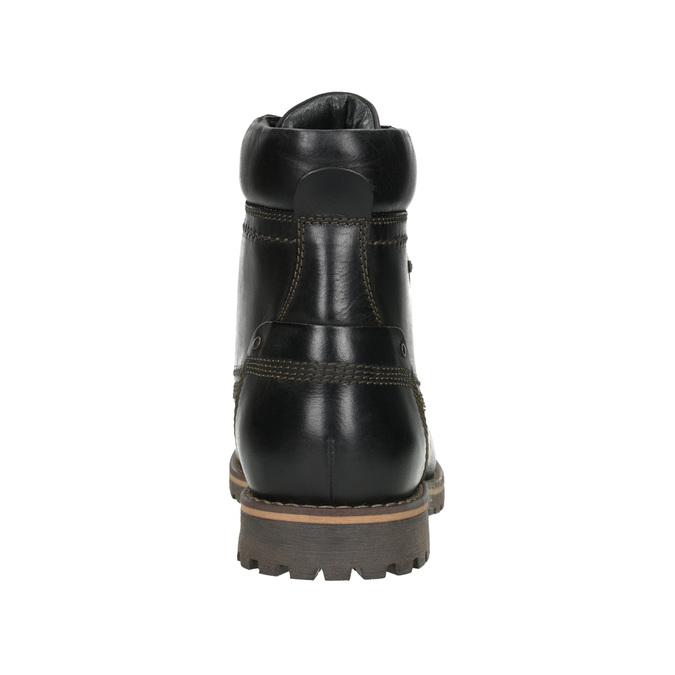 Men´s winter footwear bata, black , 896-6640 - 16