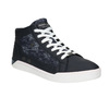 Hi-tops with denim details north-star, blue , 841-9609 - 13