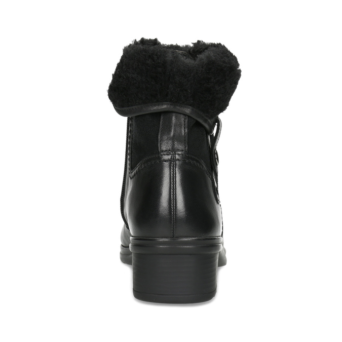 Ladies' Winter Boots gabor, black , 614-6127 - 15