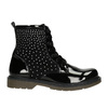 Children's Ankle Boots with Rhinestones mini-b, black , 321-6611 - 15