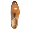 Men's leather Ombré shoes bata, brown , 824-3233 - 19